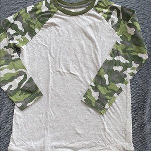 Old navy size 10-12 baseball shirt.  Barely worn
